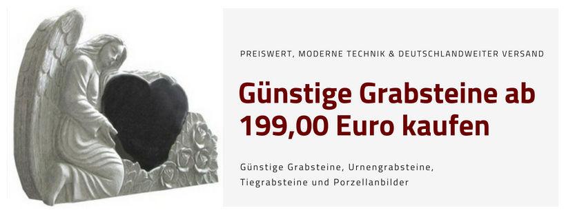 Startseitengrafik mit Grabstein in Engelsform | Grabsteine Könemann