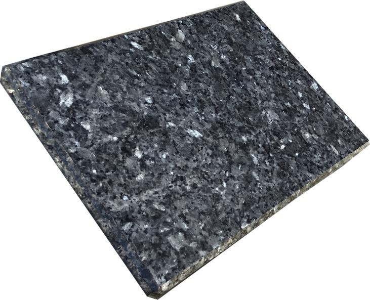 Vorschau Grabplatte Granit Blue Pearl mit kostenlosen Motiven