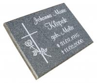 Vorschau Grabplatte Granit Impala mit kostenlosen Motiven