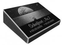 Pultgrabstein aus Granit mit Motiv Reise zu den Sternen